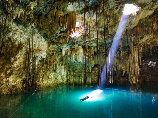 Xkeken Cenote Mexico 27 Unforgettable Moments From National Geographic Photography