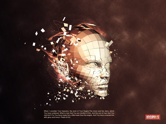 3d human a scientific 27 New and Fabulous 3D Tutorials in Photoshop