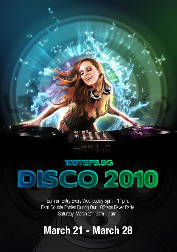 Creating an Impactful Disco Party Poster 27 New and Fabulous 3D Tutorials in Photoshop