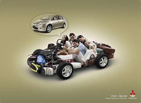 Flexible Spacious Creative Automotive Ads That Make You Say WOW (Funny PICS)