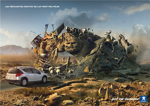 Malicious Roads Creative Automotive Ads That Make You Say WOW (Funny PICS)