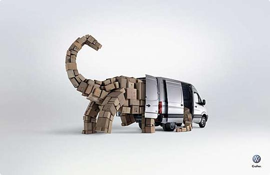 The Dinosaur Creative Automotive Ads That Make You Say WOW (Funny PICS)