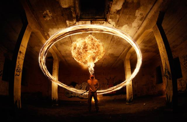 fire 1 27 Breathtaking Examples of Fire Performance Photography