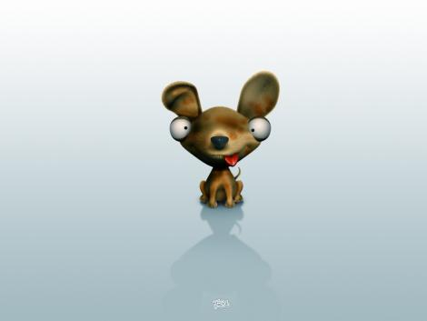 3d cartoon animal wallpaper 12 25 Funny 3D Cute Cartoon Animal [PICS]