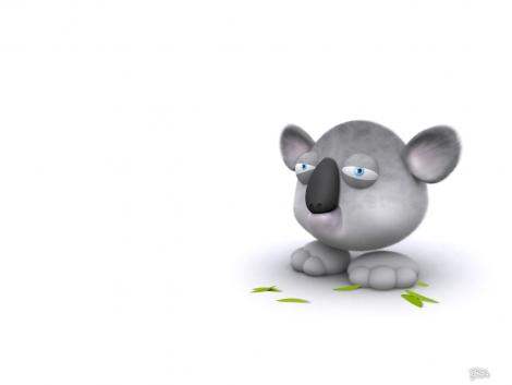 3d cartoon animal wallpaper 23 25 Funny 3D Cute Cartoon Animal [PICS]
