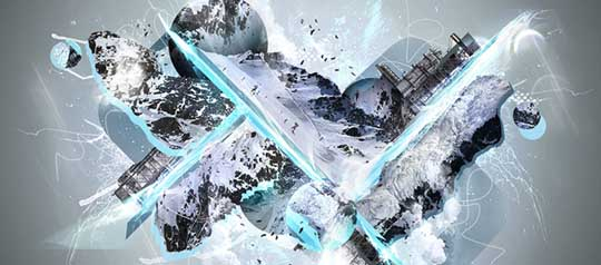 Amazing-Abstract-Icy-Creation-L