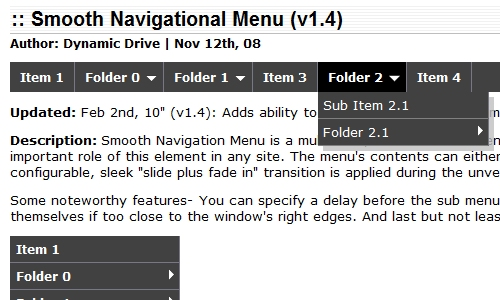 Drop Down Menu Scripts 5 30+ Useful Drop Down Menu Scripts To Enhance Header Navigation