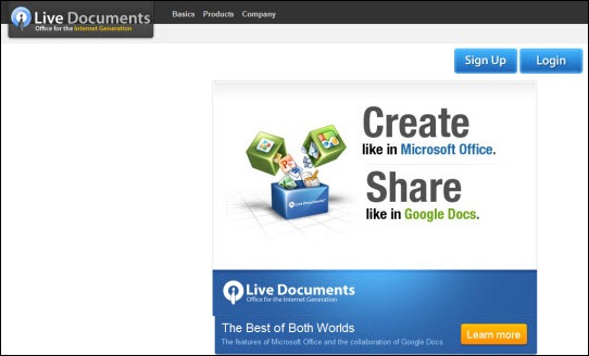 live documents