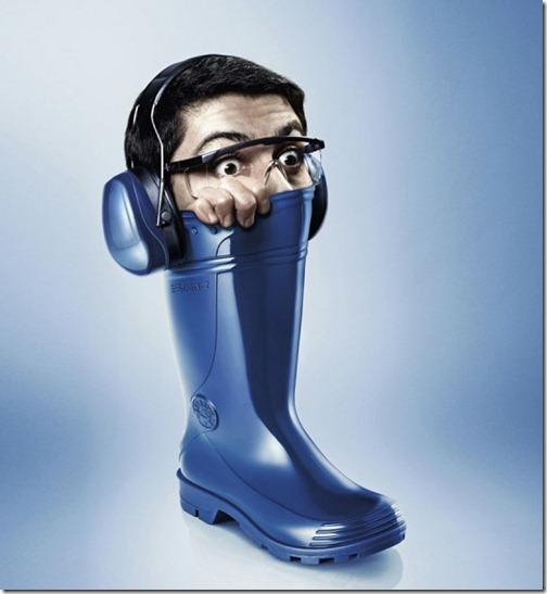 Blue-Boot