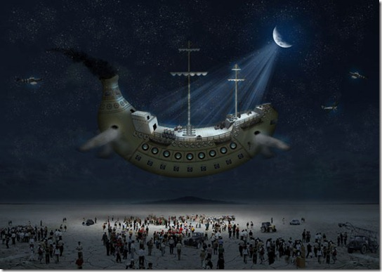 Create a Fantasy Banana Ship in Photoshop