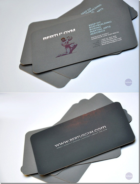 Gym-Business-Card