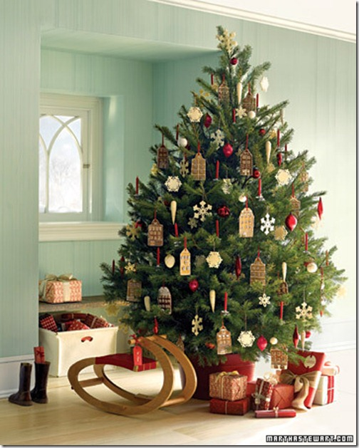 ideas to decorate christmas trees pics