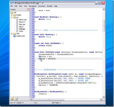 5. E-Text Editor
