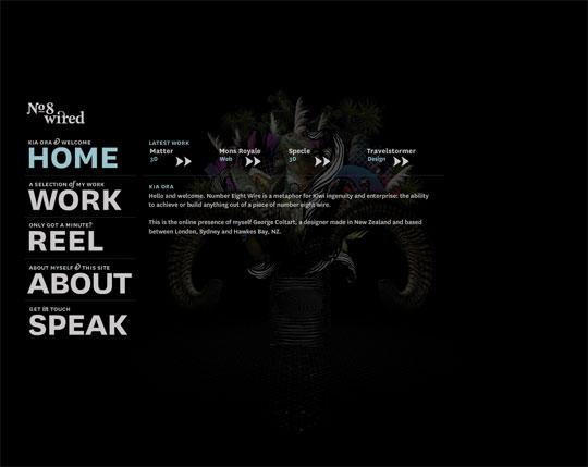 Black Flash portfolio websites