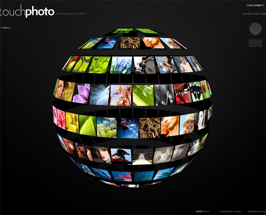 Black Flash portfolio templates