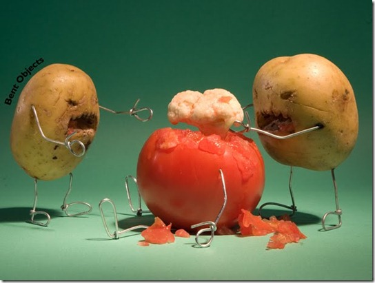 You Say Tomato, I Say Tomahto. You Say Potatoes, I say Zombies.