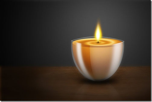 Create a Still Life Candle in Photoshop
