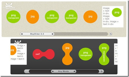 Jquery Plugin MopSlider 2.4