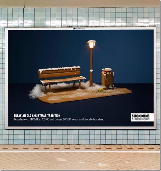 Stockholms Stadsmission: Bench