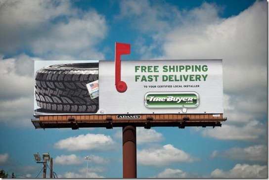 Tirebuyer.com: Mailbox Billboard Zoom