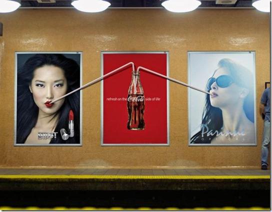 Coca-Cola: Straw, Posters