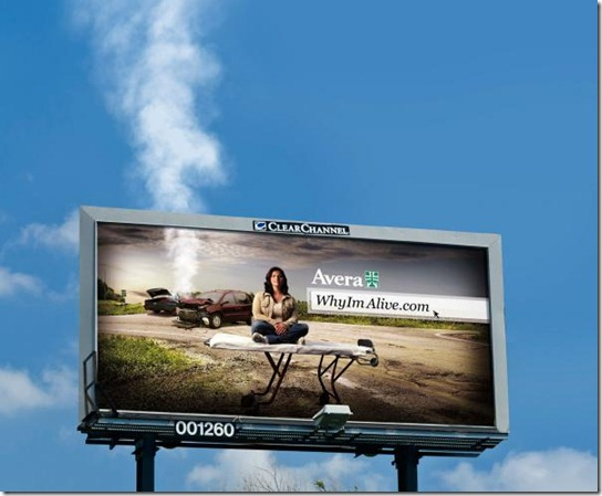 Avera Health: Smoking billboard