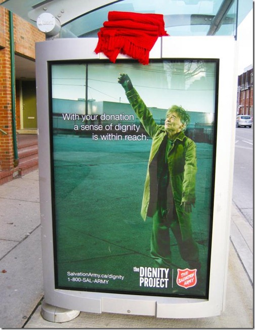 Salvation army: Blanket