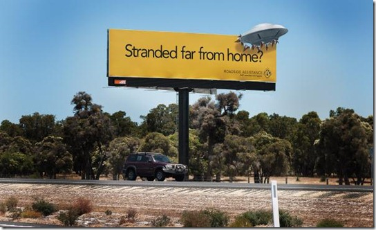 RAC Roadside Assistance: UFO