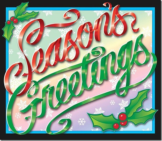 Seasonal Greetings