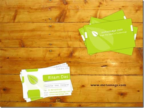 Free PSD Business Card Template11