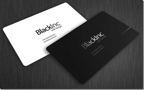 Free PSD Business Card Template12
