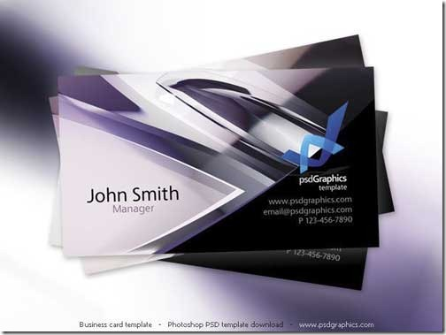 Free PSD Business Card Template13
