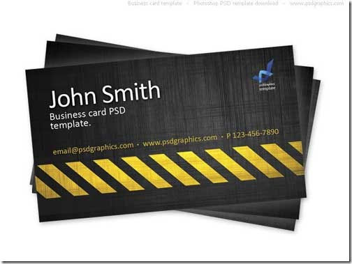 Free PSD Business Card Template17