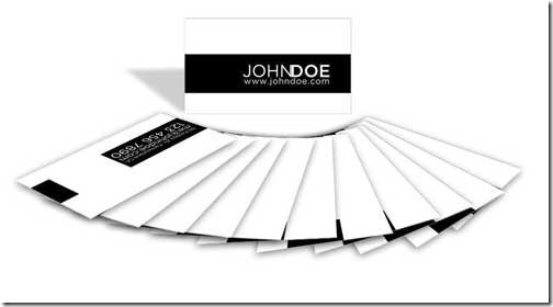 Free PSD Business Card Template22