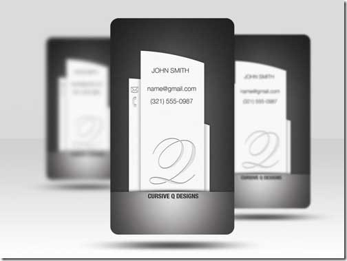 Free PSD Business Card Template23