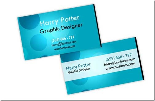 HP Business Card
