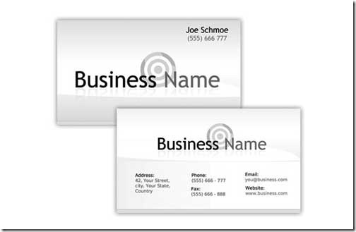 Free PSD Business Card Template4