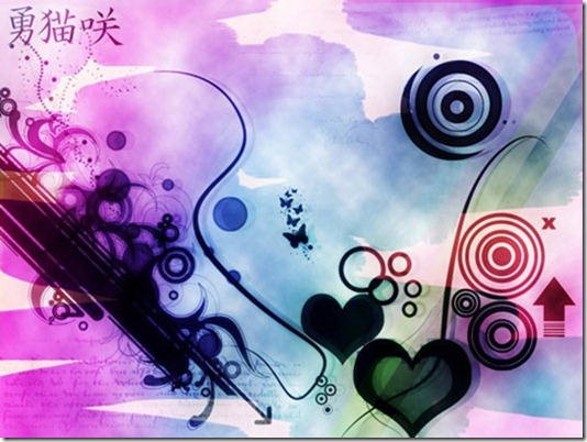 hearts for abstract wallpapers