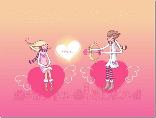 Love Shooter Wallpaper