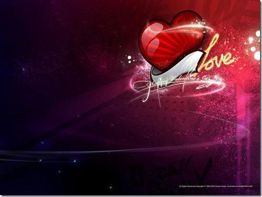 Dream Cortex Valentine's Day Wallpaper 01