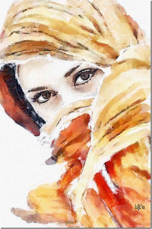 WaterColor Portrait 2