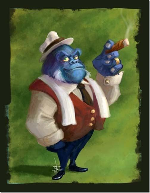 Gorilla gangster