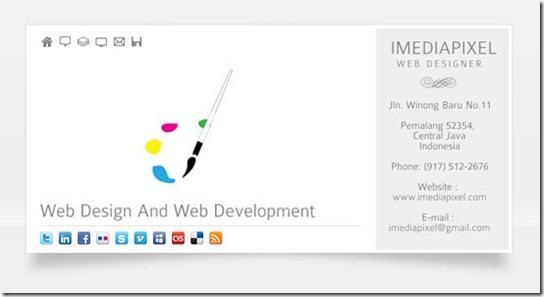 imedia-vCard – Business & Portfolio vCard