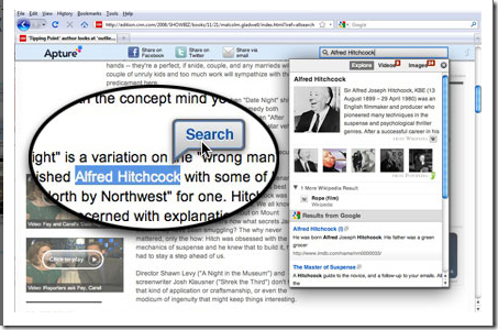 Apture Highlights -- Add-ons for Firefox