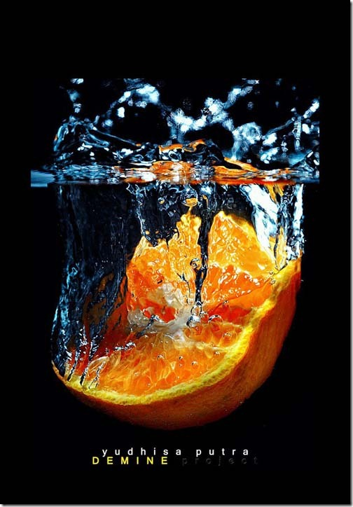 Orange Splash...