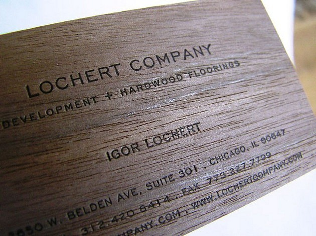 20 amazing wood business cards brown wood business card 7 reheart Choice Image