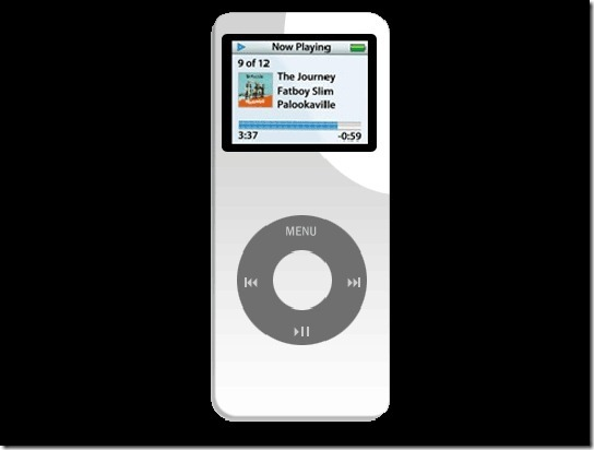 Apple iPod Nano in Photoshop