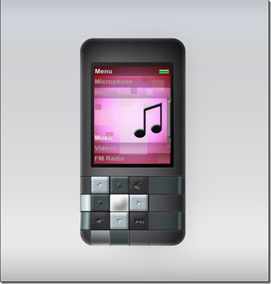 How to Create the Zen Mosiac Mp3 Player in Photoshop