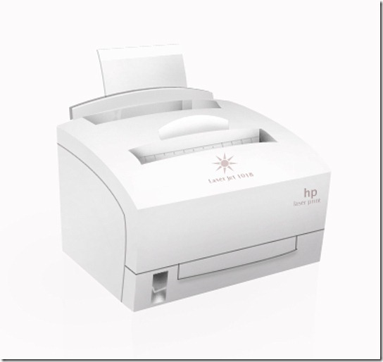 Photoshop Laser Printer Design