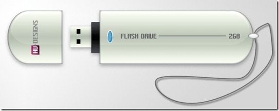 USB Stick Photoshop Tutorial